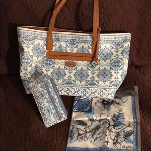 Brighton Terra Tote with matching wallet